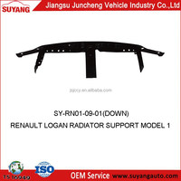 RENAULT LOGAN CAR RADIATOR SUPPORT MODEL 1 AUTO METAL SIDE PANEL FOR REPLACEMENT