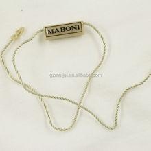 Meijei custom garment plastic seal hang tag wholesale