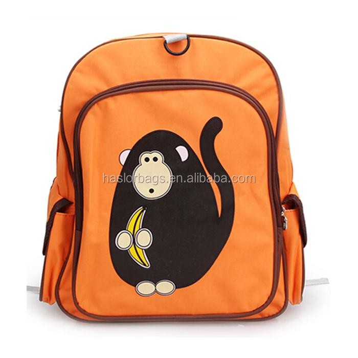 Personnage de dessin animé personnalisé sac à dos mignon pour enfants