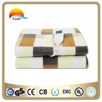 hot sale soft cheap flannel thermal masssage electric Heating Blanket