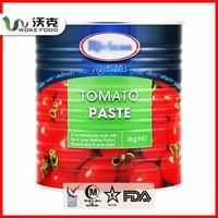 Professional tomato paste manufacturing company, WOKE FOOD Co., famous Brand