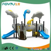 China Manufacturer of Feiyou Amusement outdoor play statiaon Outdoor kids Plastic playground equipment