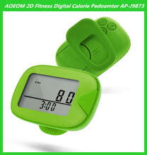 Digital Step Counter Pedometer 2D Clip Pedometer Single Function Best Promotional Christmas Gift