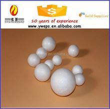 YIWU high quality soft polystyrene foam balls/styrofoam ball for christmas ornament