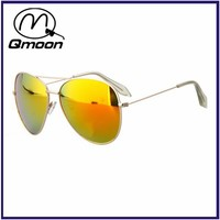 wholesale yellow lens silver arm custom logo famous sunglasses