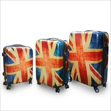 Best Choice Luggage Chinese 3 Piece Vision abs wheel for suitcase