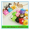 Animal Waterproof coin purse silicon rubber case