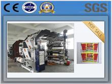 high speed 6 six colors flexo printing machine