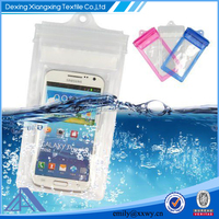 2015 New Product TPU Marerial Waterproof Cell Phone Pouches For Swimming
