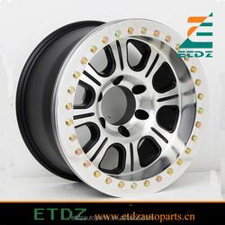 Japanese Toyota Suzuki 4x4 offroad alloy wheel Monster real alloy beadlock wheel