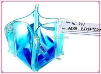 Sunny Star Liquid PVC Foldable Bag Decoration with Blue Fluid