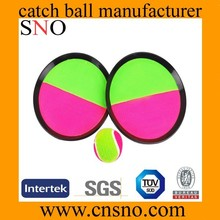 Promotional Custom velcro beach catch ball with larger printing size