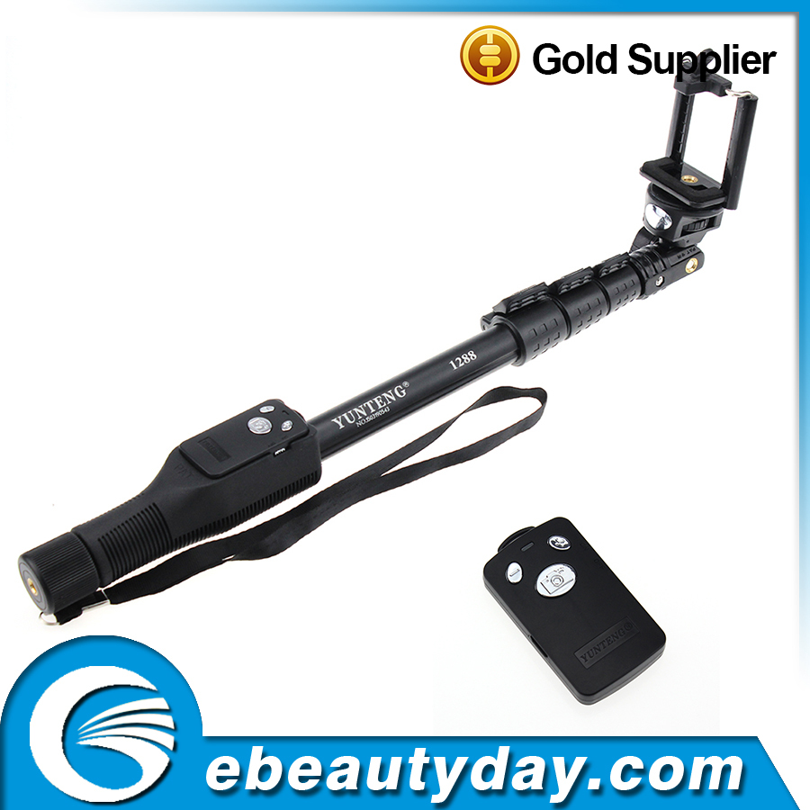 alibaba wholesale monopod selfie stick yunteng 1288 with good price for digital camera buy. Black Bedroom Furniture Sets. Home Design Ideas