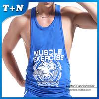 team specialized men gym wear stringer