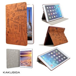 Kaku professional elegant design stand cover case for ipad mini 3