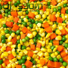 China wholesale hight quality vegetable 2014 new product IQF mixed vegetable