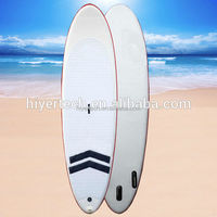 Handmade double wall fabric inflatable stand up paddle board 10.6 ft