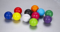2014 hot selling 6.3cm cheap PU toy/promotionl PU stress ball/custom shaped printed anti stress ball/