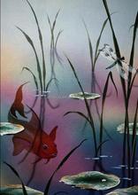 Modern decor oil painting on canvas artwork 60025
