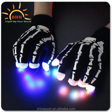 Factory price Party Item Type and Valentine Day Occasion led lighting glove/led finger light gloves/ led gloves wholesale China