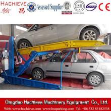 Two post hydraulic car lift platform / car parking elevator / tilting car lift