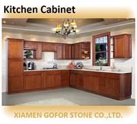 china wood kitchen cabinet, prefab kitchen cabinet, whole kitchen cabinet set