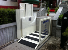 1-6M lifting height 300kg loading capacity easy control wheelchair lift/disabled assist