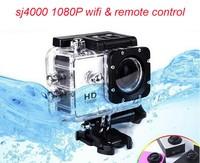 1.5 inch 1080p hd sj4000 wifi with remote control hidden camera, hidden camera long time recording, all types hidden camera