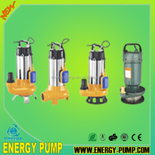 0.37kw 0.55kw 0.75kw 1.1kw Submersible QDX series Pump 10meter cable Automatic float switch