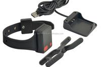 Waterproof iP67 Mental wristband bracelet GPS bracelet personal tracker belt cut off alarm GPS tracker for prisoner