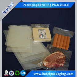 Frozen food bag / plastic snack food bag / packaging bag for frozen food