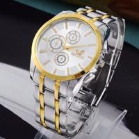 Gold watch Full stainless steel men fashion dress watches men brand quartz watch best quality hot 2015