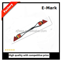 trailer connector auto trail LED light lamp E-MARK JH115 PVC board with triangle reflector