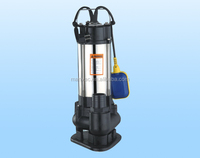donguan manufactory float switch submersible sewage pump for drainning wast water