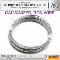 unit weight of electro galvanized iron wire manufacturer from china
