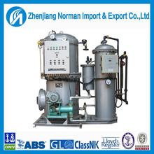 Marine oil water centrifuge separator