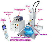 3 Axis Automatic Electronic Components Adhesive Coating Dispenser
