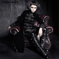 Y-401 Wholesale Sexy Gothic Formal Long Ladies Dress Coats Women