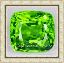 hot sale man need shining square green cubic diamond/diamond beads