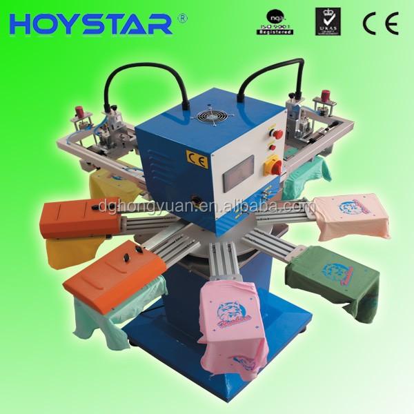 2 color screen printing machine