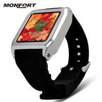 2015 new fashion hand watch mobile phone price Sport Water Resistant Bluetooth GPS android smart watch