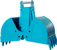 rotary and non- rotary clamshell Bucket for different model and size/ Excavator rotating clamshell bucket