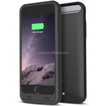 oem china manufacturer ultra thin power bank case for iphone 6, external backup battery cell phone covers