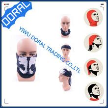 Polyester OEM custom logo tubular smart star blue middle east arabic headwear