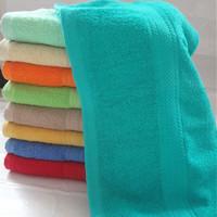 100% cotton solid color cannon towels