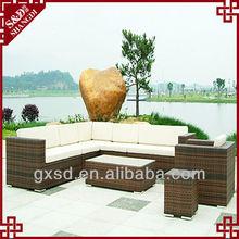 China Wholesale Variety Types PE Rattan Garden Sofa Set Patio Furniture