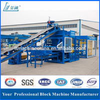 Low investment T10-15 automatic concrete paving brick block making machine price for sale
