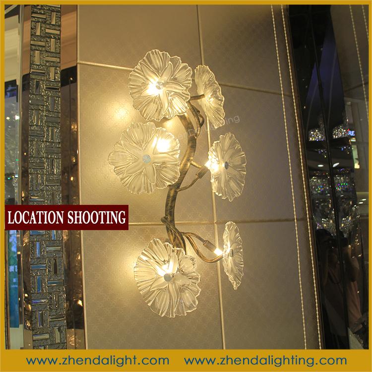 folower arbre forme verre souffl applique avec led applique murale lampe murale id du produit. Black Bedroom Furniture Sets. Home Design Ideas