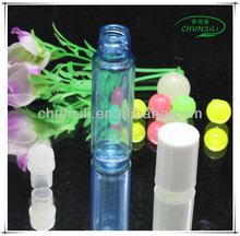 2015 new product colorful plastic OEM 4ML french skin care brands bottle
