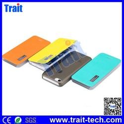 Wholesale Rock Side Flip PC+Leather Case for iPhone 5C, cover case for iphone 5c